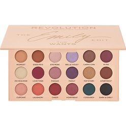 Revolution x The Emily Edit The Wants Eyeshadow Palette