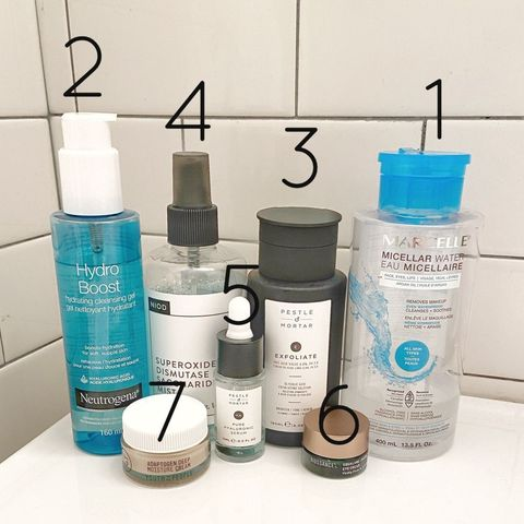 PM Routine for Normal Skin