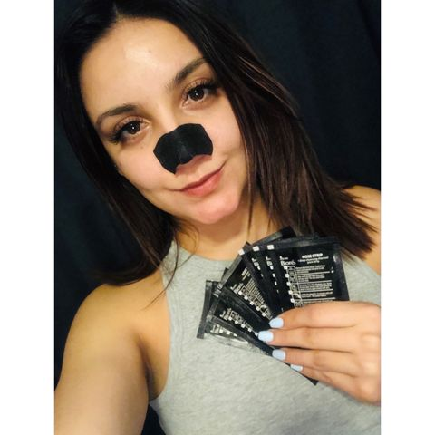 Biore charcoal nose strips