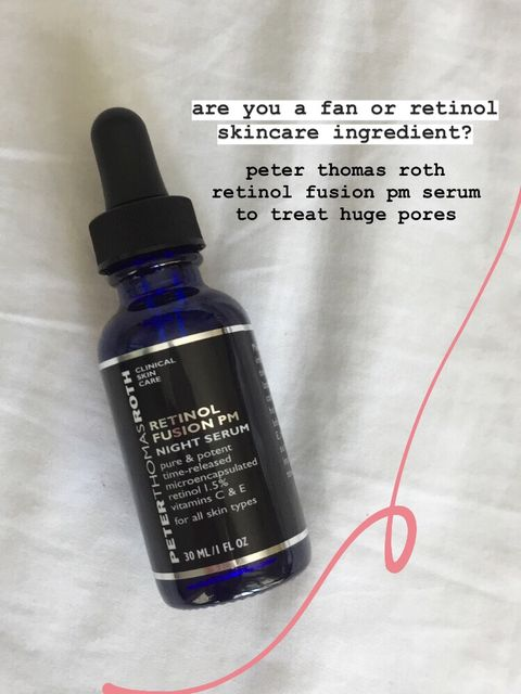 Rocking Retinol For My Huge Pores And Uneven Skin