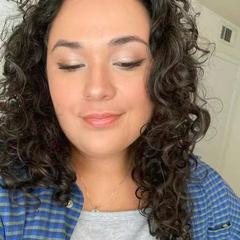 ⭐️Current curly hair routine!⭐️