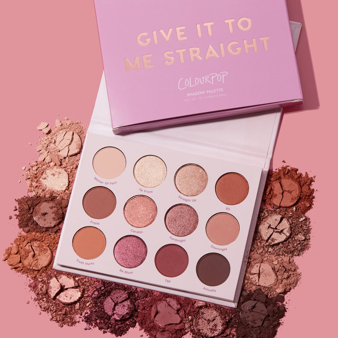 Give It To Me Straight shadow palette