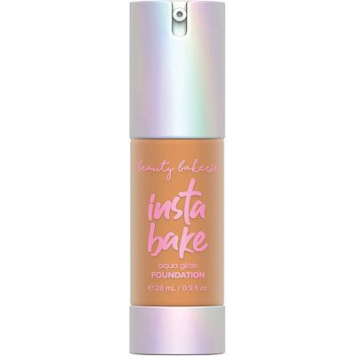 InstaBake Aqua Glass Foundation, Beauty Bakerie, cherie