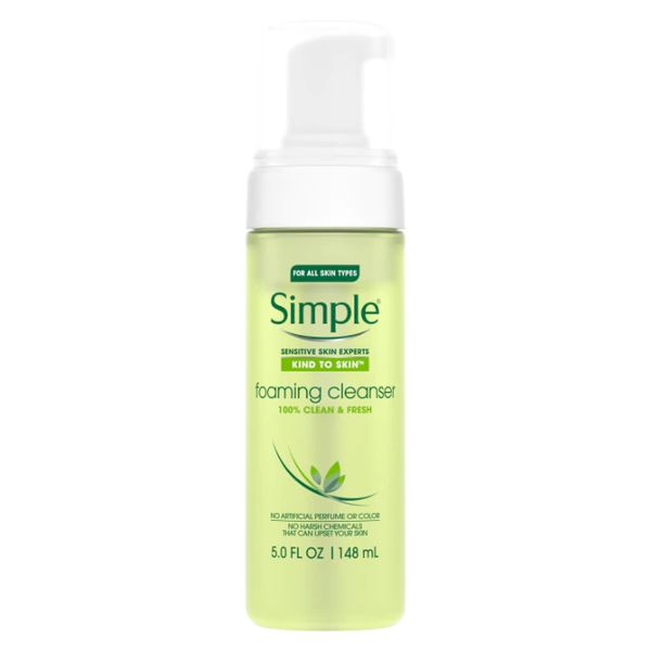 Kind to Skin Foaming Facial Cleanser , Simple, cherie