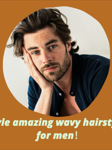 Best tips and tricks for men to style wavy hair!