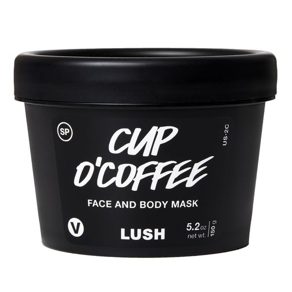 Cup O' Coffee Face And Body Mask, LUSH, cherie