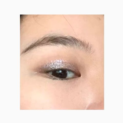 Probably the easiest eye look ever.