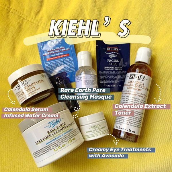 My skincare routine for summer ( All KIEHL'S)   Cherie