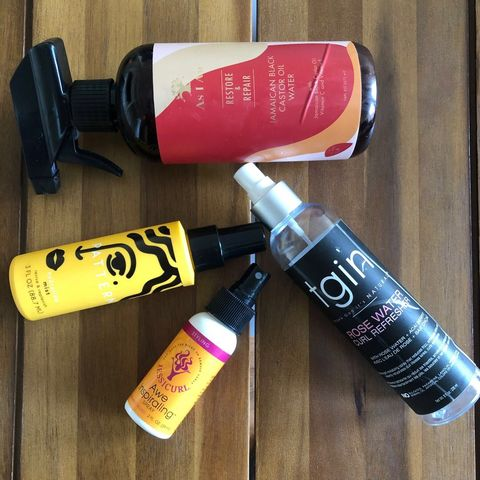 Hydrating Mists & Curl Refreshers (Type 4)