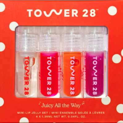 Juicy All The Way - Mini Lip Jelly Set, TOWER 28, cherie