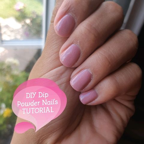DIY dip powder nails tutorial!