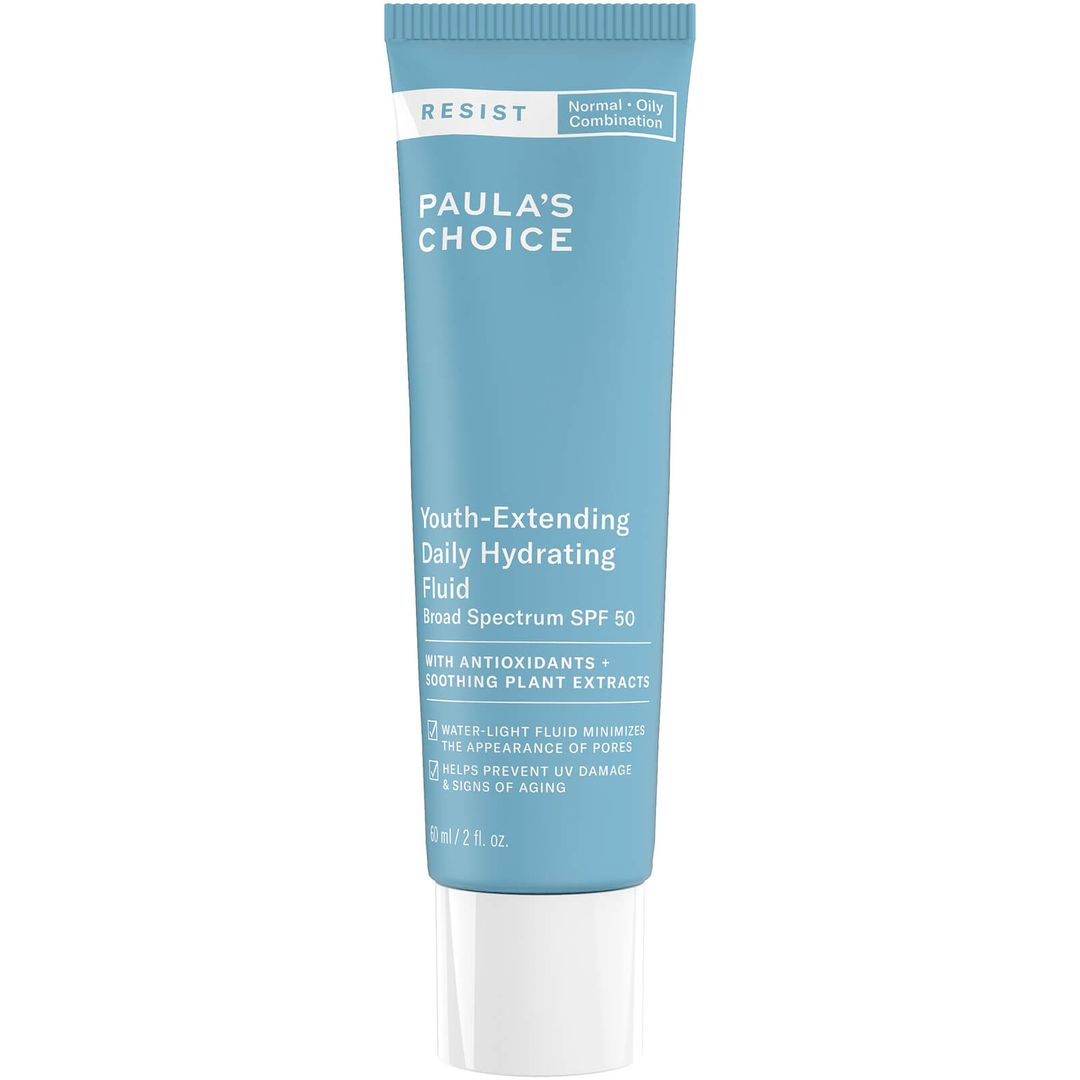 Youth-extending Daily Hydrating Fluid SPF 50