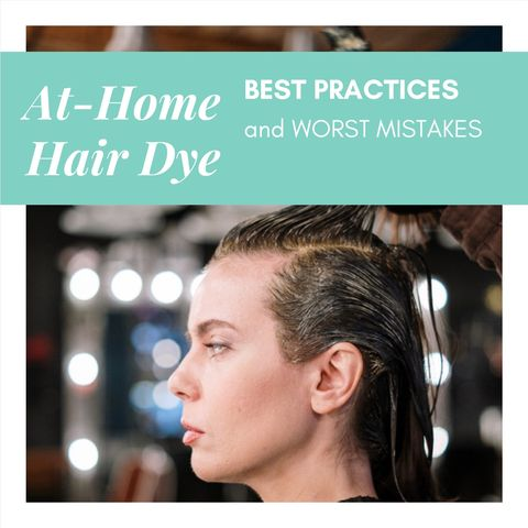Easy Mistakes to Make with At-Home Hair Dye