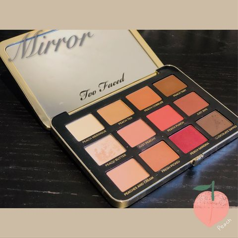 Eyeshadow, blush, highlighter... All you want can be found in this palette!