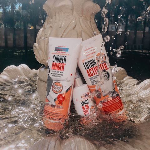 Soap and Glory for hot days