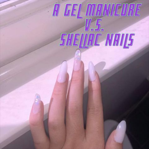 What's the Difference Between a Gel Manicure and Shellac Nails?