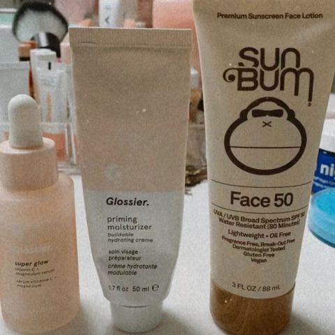 My morning routine ~ skin care :)