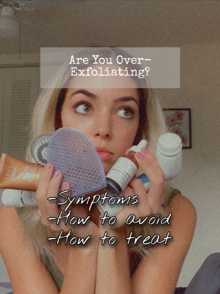 Over-Exfoliated Skin: What To Do Next