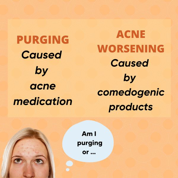 Derm's SUG: Skin purging or acne? | Cherie