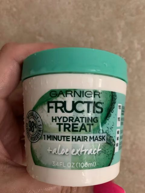 Hydrating hair mask