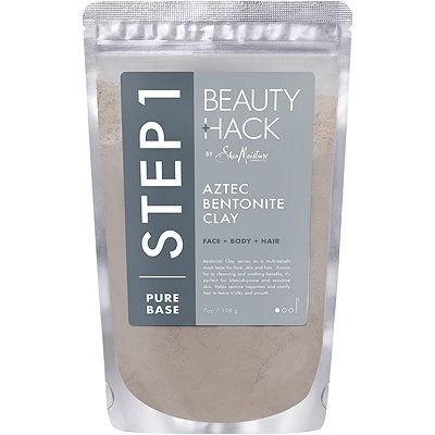 BeautyHack Face + Body + Hair Aztec Bentonite Clay