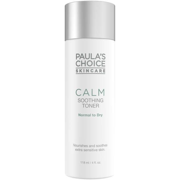 Skincare Calm Soothing Gel Toner Normal to Dry