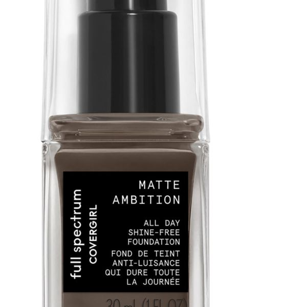 Full Spectrum Matte Ambition All Day Foundation, COVERGIRL, cherie
