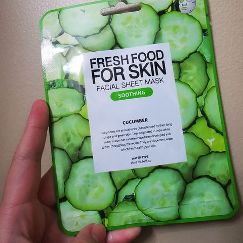 Fresh Food For Skin