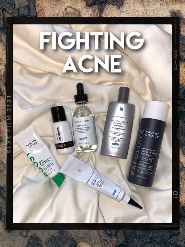 HOW I FIGHT ACNE WITH MY SKINCARE ROUTINE | Cherie