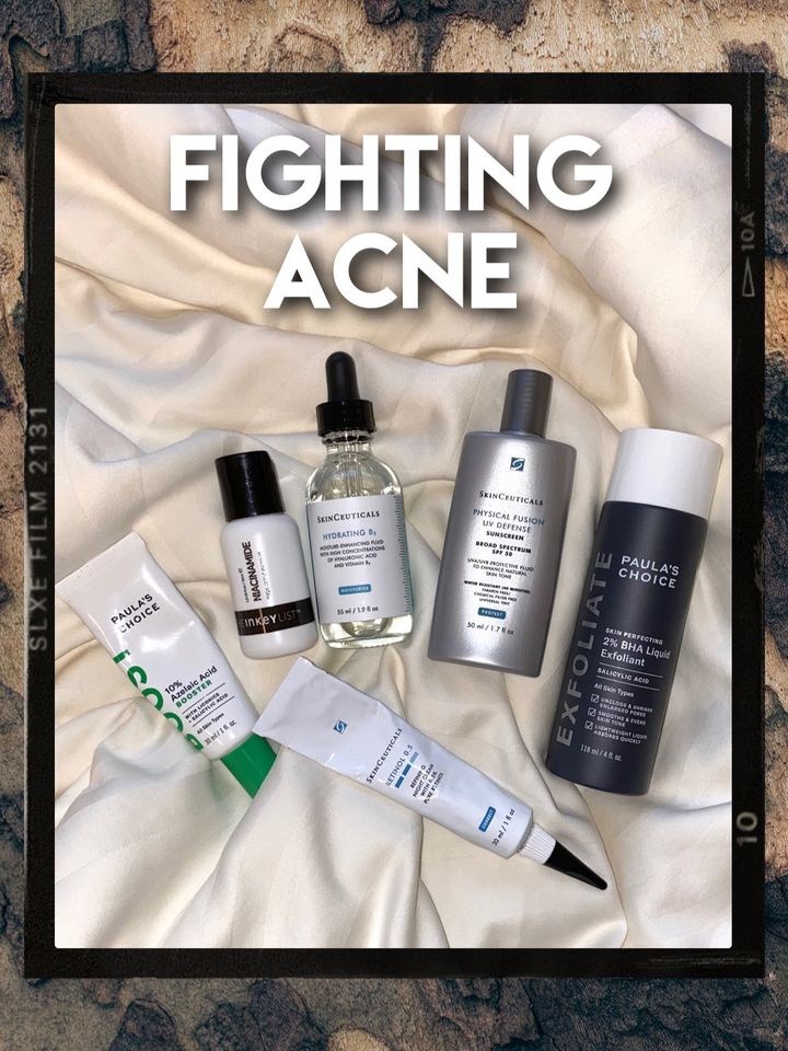 HOW I FIGHT ACNE WITH MY SKINCARE ROUTINE