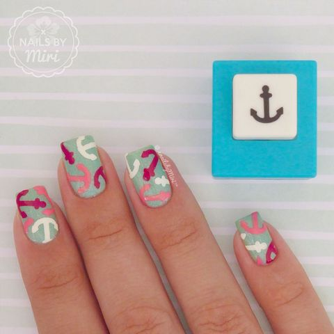 This easy anchor print design