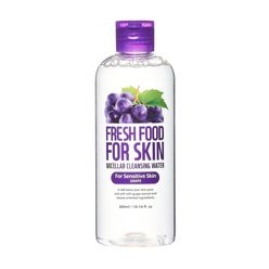 Freshfood for Skin Micellar Cleansing Water Grape