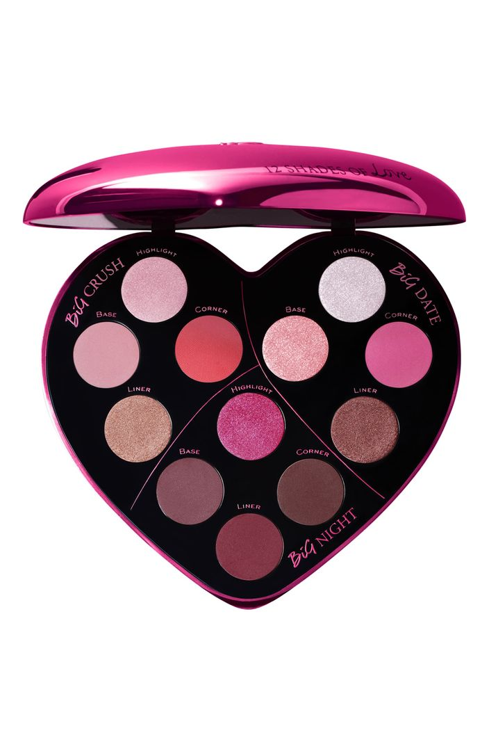 Monsieur Big Heart-Shaped Eyeshadow Palette