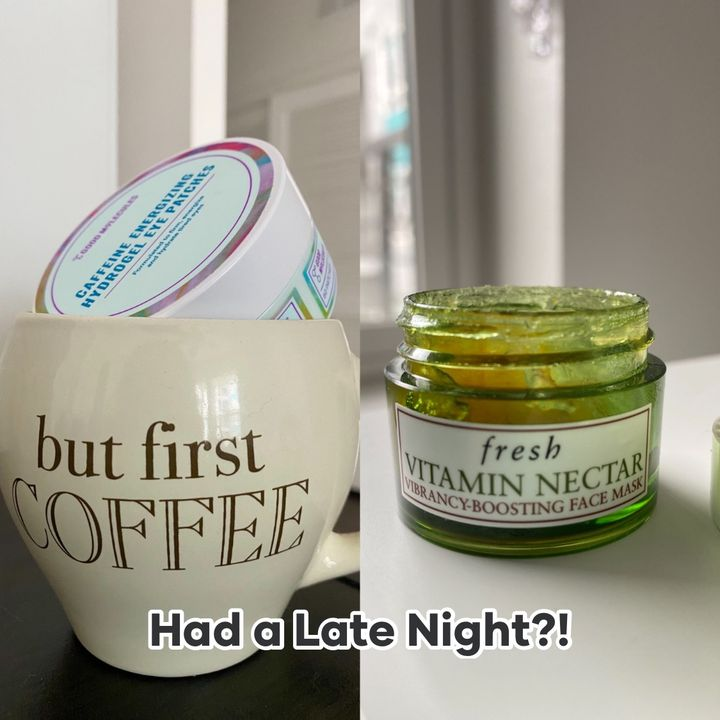 Had a Late Night? 2 Quick Fixes!