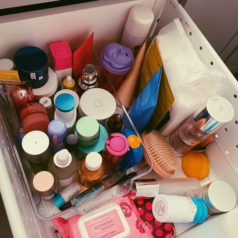 WHAT'S IN MY SKIN DRAWER.