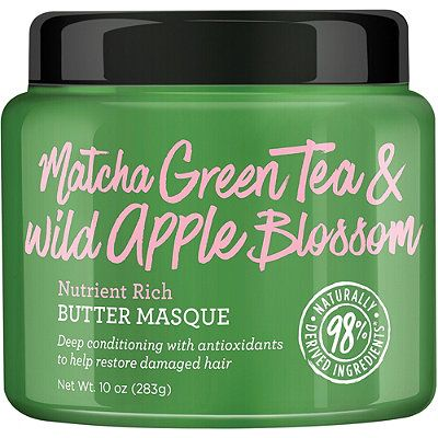 Matcha Green Tea & Wild Apple Blossom Nutrient Rich Butter Masque