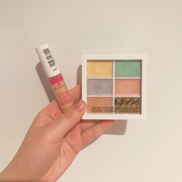 Colour Correcting Concealer Palette Vs Normal Liquid Concealer | Cherie