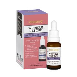 Wrinkle Rescue Natural Retinol Concentrated Serum