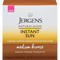 Natural Glow Instant Sun Full-Body Towelettes
