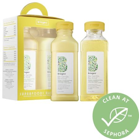 Banana + Coconut Superfoods Shampoo & Conditioner Hair Pack