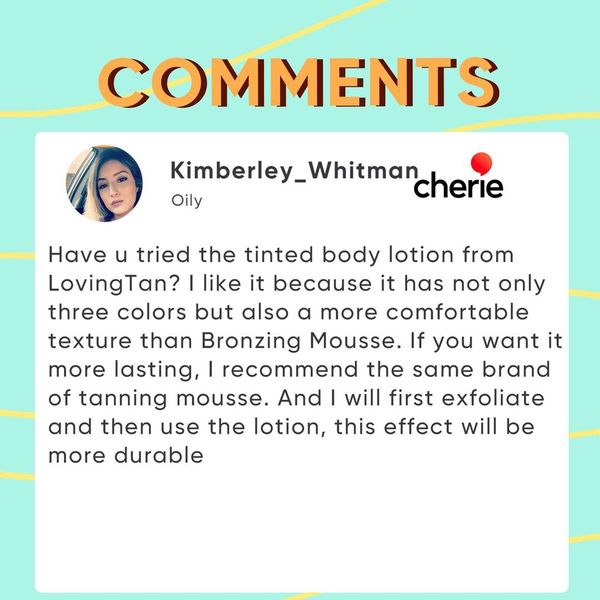 Picked Comments: Body Lotion  | Cherie