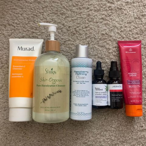 My daily skin care routine for oily skin