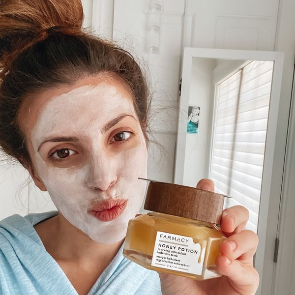 Farmacy honey potion face mask  | Cherie