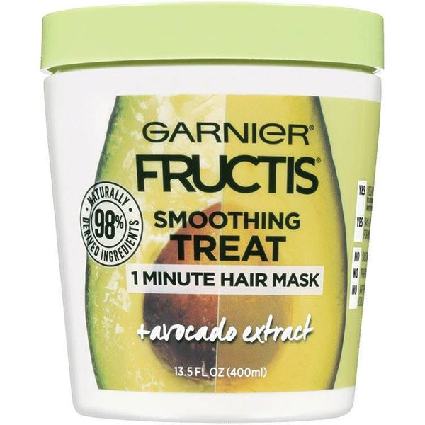 Fructis Smoothing Treat 1 Minute Hair Mask + Avocado Extract, GARNIER, cherie