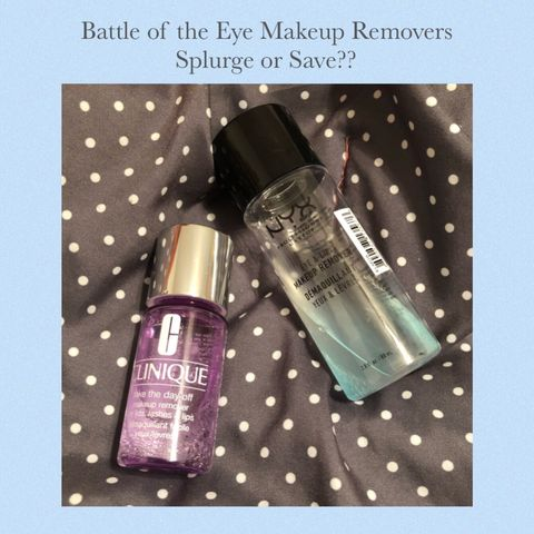 ✨ Battle of the Eye Makeup Removers ✨