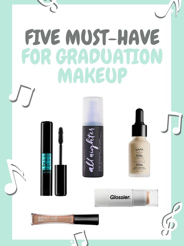 Five Must-have products for graduation makeup | Cherie