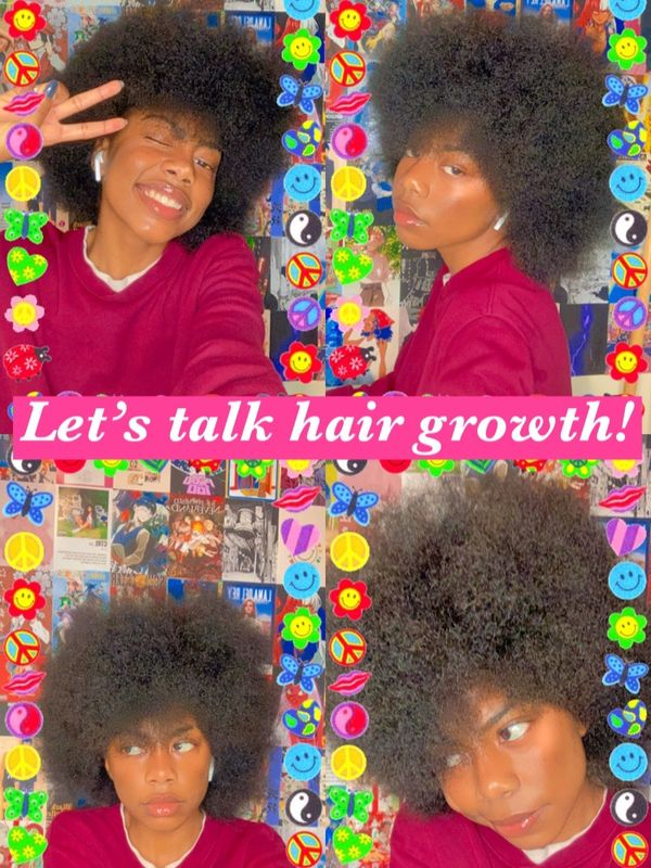 How I fully transitioned and grew my 4b/c hair | Cherie