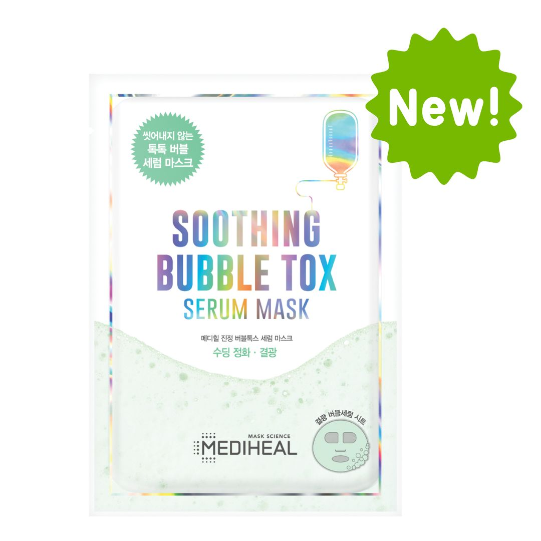 Soothing Bubble Tox Serum Mask