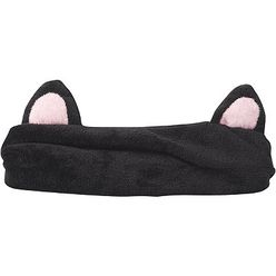 Black Cat Bath Headband