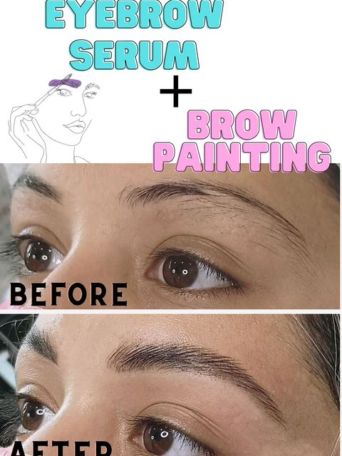 Save your brows! The best Combo: Castor serum + Mascara